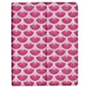 SCALES3 WHITE MARBLE & PINK DENIM Apple iPad Mini Flip Case View1