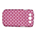 SCALES3 WHITE MARBLE & PINK DENIM Samsung Galaxy S III Classic Hardshell Case (PC+Silicone) View1