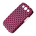 SCALES3 WHITE MARBLE & PINK DENIM Samsung Galaxy S III Classic Hardshell Case (PC+Silicone) View4
