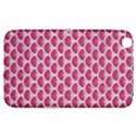 SCALES3 WHITE MARBLE & PINK DENIM Samsung Galaxy Tab 3 (8 ) T3100 Hardshell Case  View1