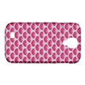 SCALES3 WHITE MARBLE & PINK DENIM Samsung Galaxy S4 Classic Hardshell Case (PC+Silicone) View1