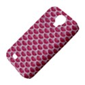 SCALES3 WHITE MARBLE & PINK DENIM Samsung Galaxy S4 Classic Hardshell Case (PC+Silicone) View4