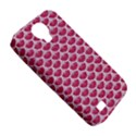 SCALES3 WHITE MARBLE & PINK DENIM Samsung Galaxy S4 Classic Hardshell Case (PC+Silicone) View5