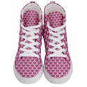 SCALES3 WHITE MARBLE & PINK DENIM Women s Hi-Top Skate Sneakers View1