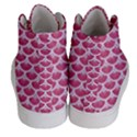 SCALES3 WHITE MARBLE & PINK DENIM Women s Hi-Top Skate Sneakers View4