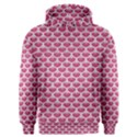 SCALES3 WHITE MARBLE & PINK DENIM Men s Overhead Hoodie View1