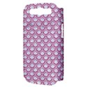 SCALES2 WHITE MARBLE & PINK DENIM (R) Samsung Galaxy S III Hardshell Case (PC+Silicone) View3