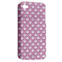 SCALES2 WHITE MARBLE & PINK DENIM (R) Apple iPhone 4/4S Hardshell Case (PC+Silicone) View2