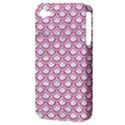 SCALES2 WHITE MARBLE & PINK DENIM (R) Apple iPhone 4/4S Hardshell Case (PC+Silicone) View3