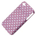 SCALES2 WHITE MARBLE & PINK DENIM (R) Apple iPhone 4/4S Hardshell Case (PC+Silicone) View4