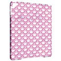 SCALES2 WHITE MARBLE & PINK DENIM (R) Apple iPad Pro 9.7   Hardshell Case View2