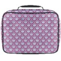 SCALES2 WHITE MARBLE & PINK DENIM (R) Full Print Lunch Bag View2