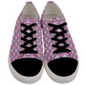 SCALES2 WHITE MARBLE & PINK DENIM (R) Men s Low Top Canvas Sneakers View1