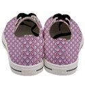 SCALES2 WHITE MARBLE & PINK DENIM (R) Men s Low Top Canvas Sneakers View4