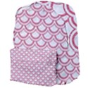SCALES2 WHITE MARBLE & PINK DENIM (R) Giant Full Print Backpack View4