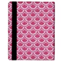 SCALES2 WHITE MARBLE & PINK DENIM Apple iPad Mini Flip Case View3