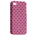 SCALES2 WHITE MARBLE & PINK DENIM Apple iPhone 4/4S Hardshell Case (PC+Silicone) View2