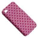 SCALES2 WHITE MARBLE & PINK DENIM Apple iPhone 4/4S Hardshell Case (PC+Silicone) View5