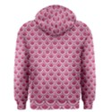 SCALES2 WHITE MARBLE & PINK DENIM Men s Zipper Hoodie View2
