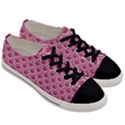 SCALES2 WHITE MARBLE & PINK DENIM Men s Low Top Canvas Sneakers View3