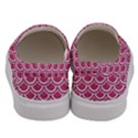 SCALES2 WHITE MARBLE & PINK DENIM Men s Canvas Slip Ons View4