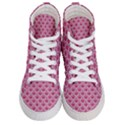 SCALES2 WHITE MARBLE & PINK DENIM Men s Hi-Top Skate Sneakers View1