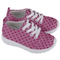 SCALES2 WHITE MARBLE & PINK DENIM Kids  Lightweight Sports Shoes View3