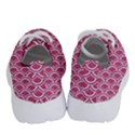 SCALES2 WHITE MARBLE & PINK DENIM Running Shoes View4