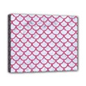 SCALES1 WHITE MARBLE & PINK DENIM (R) Canvas 10  x 8  View1