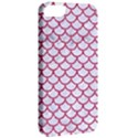SCALES1 WHITE MARBLE & PINK DENIM (R) Apple iPhone 5 Classic Hardshell Case View2