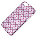 SCALES1 WHITE MARBLE & PINK DENIM (R) Apple iPhone 5 Classic Hardshell Case View4