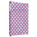 SCALES1 WHITE MARBLE & PINK DENIM (R) Apple iPad Mini Hardshell Case View2