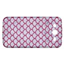 SCALES1 WHITE MARBLE & PINK DENIM (R) Samsung Galaxy Mega 5.8 I9152 Hardshell Case  View1