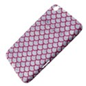 SCALES1 WHITE MARBLE & PINK DENIM (R) Samsung Galaxy Tab 3 (8 ) T3100 Hardshell Case  View4