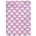 SCALES1 WHITE MARBLE & PINK DENIM (R) iPad Mini 2 Flip Cases View1