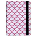 SCALES1 WHITE MARBLE & PINK DENIM (R) iPad Mini 2 Flip Cases View2