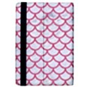 SCALES1 WHITE MARBLE & PINK DENIM (R) iPad Mini 2 Flip Cases View4