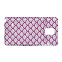 SCALES1 WHITE MARBLE & PINK DENIM (R) Samsung Galaxy Note 4 Hardshell Case View1