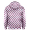 SCALES1 WHITE MARBLE & PINK DENIM (R) Men s Pullover Hoodie View2
