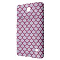 SCALES1 WHITE MARBLE & PINK DENIM (R) Samsung Galaxy Tab 4 (7 ) Hardshell Case  View2