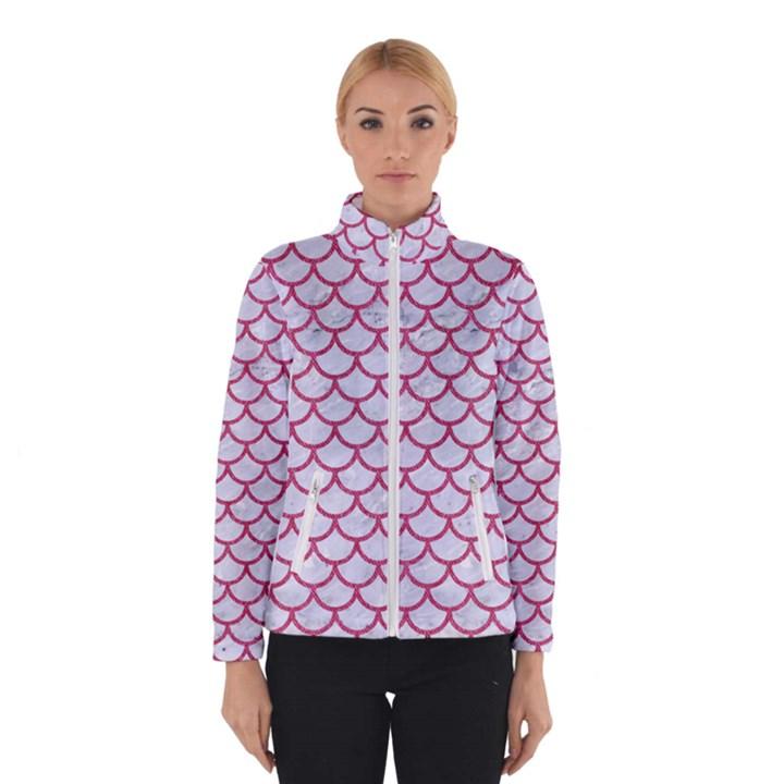 SCALES1 WHITE MARBLE & PINK DENIM (R) Winterwear