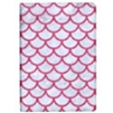 SCALES1 WHITE MARBLE & PINK DENIM (R) Apple iPad Pro 12.9   Flip Case View1