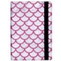 SCALES1 WHITE MARBLE & PINK DENIM (R) Apple iPad Pro 12.9   Flip Case View2