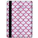 SCALES1 WHITE MARBLE & PINK DENIM (R) Apple iPad Pro 12.9   Flip Case View4