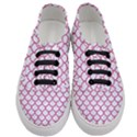 SCALES1 WHITE MARBLE & PINK DENIM (R) Women s Classic Low Top Sneakers View1