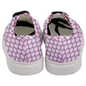 SCALES1 WHITE MARBLE & PINK DENIM (R) Women s Classic Low Top Sneakers View4