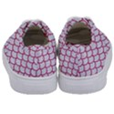 SCALES1 WHITE MARBLE & PINK DENIM (R) Kids  Classic Low Top Sneakers View4