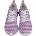 SCALES1 WHITE MARBLE & PINK DENIM (R) Men s Lightweight Sports Shoes View1