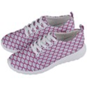 SCALES1 WHITE MARBLE & PINK DENIM (R) Men s Lightweight Sports Shoes View2