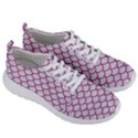 SCALES1 WHITE MARBLE & PINK DENIM (R) Men s Lightweight Sports Shoes View3
